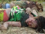 Mangled by vultures, other victims of the Ampatuan massacre.